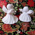 Christmas Angel Free Crochet Pattern