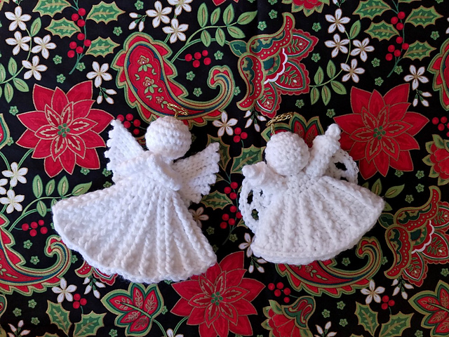 Free Crochet Cotton Christmas Patterns : Christmas Angel Free Crochet Pattern ? Crochet Kingdom