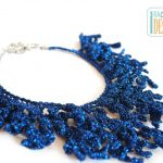 Coral Reef Necklace Free Crochet Pattern
