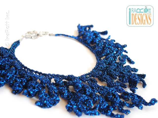 Coral Reef Necklace Free Crochet Pattern Crochet Kingdom