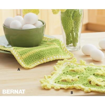 daffodil-crochet-dishcloths