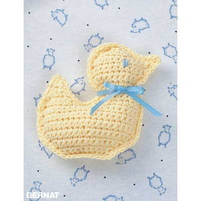 Duck Toy Free Easy Baby Crochet Pattern