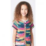 Easy Way Down Free Easy Kids' Cardigan Crochet Pattern