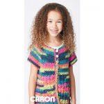 Easy Way Down Free Easy Kids' Cardigan Crochet Pattern