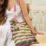 Flowers on the Beach Free Bag Crochet Pattern