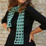 Gaps Free Crochet Scarf Pattern