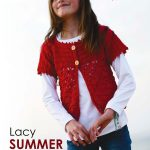 Girl's Lacy Summer Cardigan Crochet Pattern
