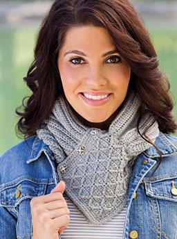 Greystones Cowl Free Crochet Pattern