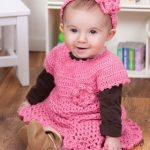 Little Sweetie Dress & Headband Set Crochet Pattern