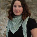 Mynte Crochet Spring Scarf Free Pattern