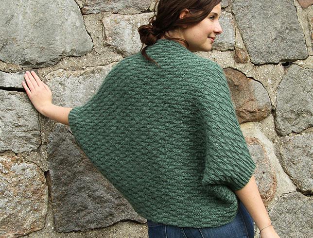 Oscilla - a crocheted shrug free pattern ⋆ Crochet Kingdom