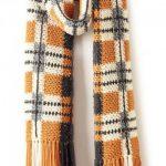 Patons Big Tartan Crochet Super Scarf Free Pattern