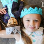 Princess Crown Headband to Crochet Free Pattern
