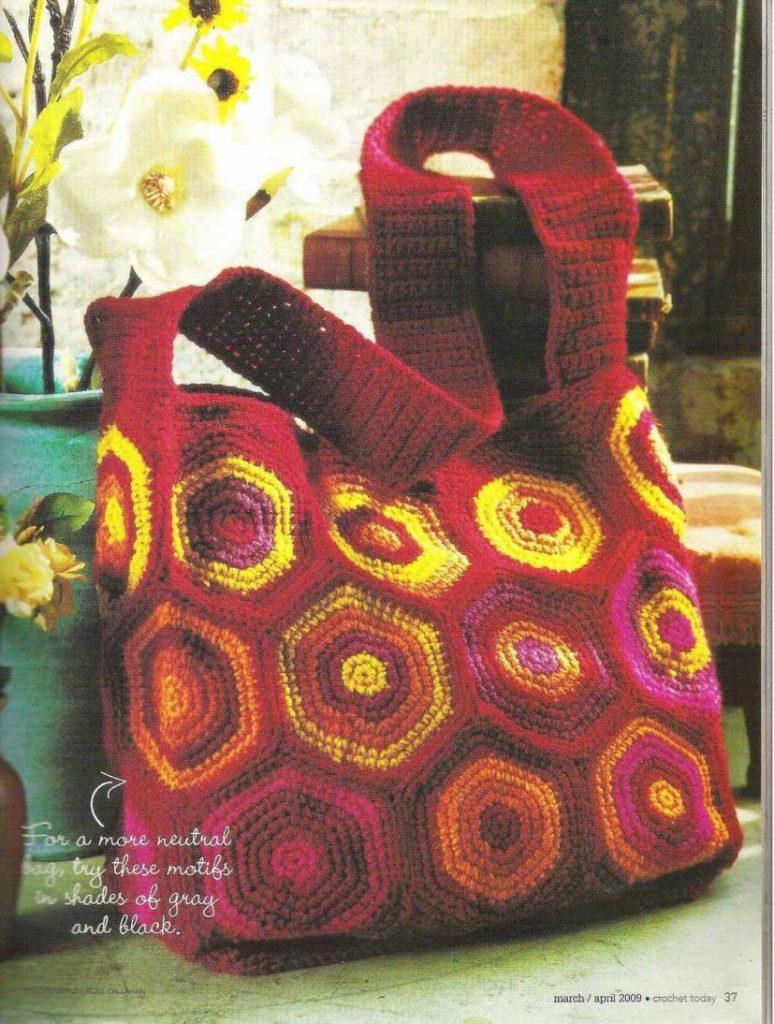 Sunny Shoulder Crochet Bag Pattern