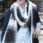 Super Granny Crochet Scarf Free Pattern
