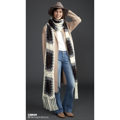super-granny-crochet-scarf-free-pattern