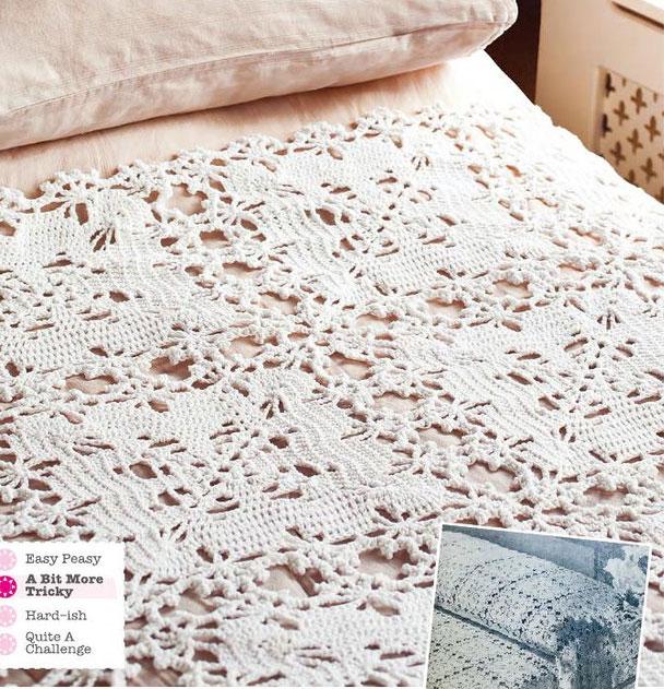 Vintage Bedspread Crochet Pattern Crochet Kingdom
