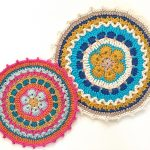 African Flower Mandala Crochet Pattern