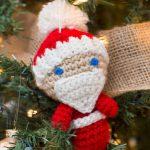 Amigurumi Santa Ornaments Free Crochet Pattern