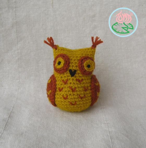 Amigurumi Sophisticated Owl Free Crochet Pattern ⋆ Crochet