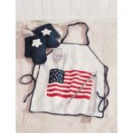 An All-American BBQ Apron Free Crochet Pattern