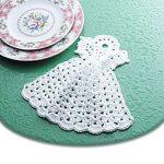 Angel Dishcloth free crochet pattern