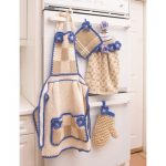 Apron with Bib Free Crochet Pattern