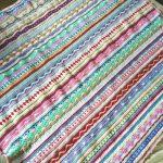 As We Go Stripy Blanket Crochet Pattern