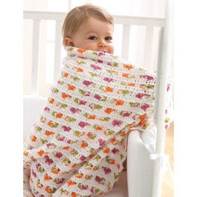 Baby Blanket Free Easy Baby's Crochet Pattern