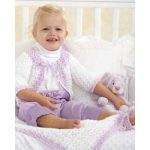 Baby Jacket and Blanket Set Free Crochet Patterns