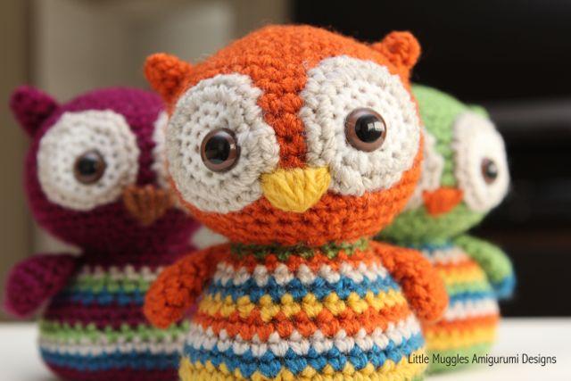 Baby Owl Free Pattern Crochet Amigurumi ⋆ Crochet Kingdom