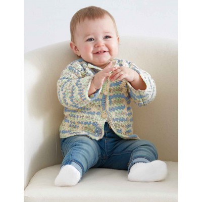 Baby's First Cardigan Free Crochet Pattern