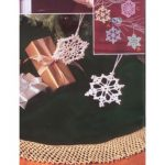 Bells, Flakes, and Tree Skirt Edging Free Christmas Crochet Patterns
