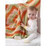 Big Granny Baby Blanket Free Easy Crochet Pattern