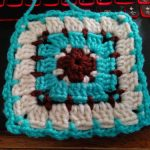 Block Stitch Granny Square