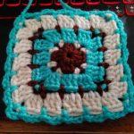 Block Stitch Granny Square