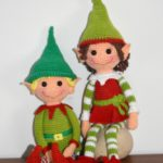Christmas Elves crochet pattern free