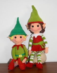 Christmas Elves crochet pattern free