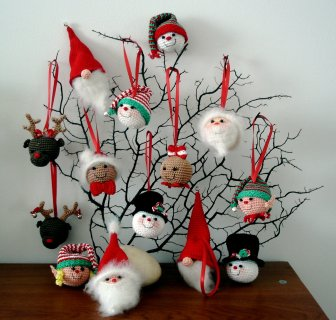 Christmas Ornaments To Crochet Free