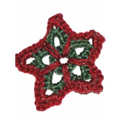 Christmas Star Ornament Free Easy Holiday Decor Crochet Pattern