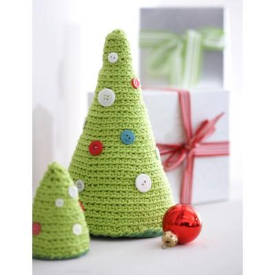 Christmas Trees Free Easy Home Decor Crochet Pattern