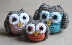 12 Cutest Crochet Amigurumi Owl Free Patterns - DIY 4 EVER | 187x300