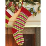Crochet Stocking Free Easy Home Decor Pattern