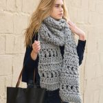 Crochet Super Simple Scarf Free Bulky Yarn Crochet Pattern