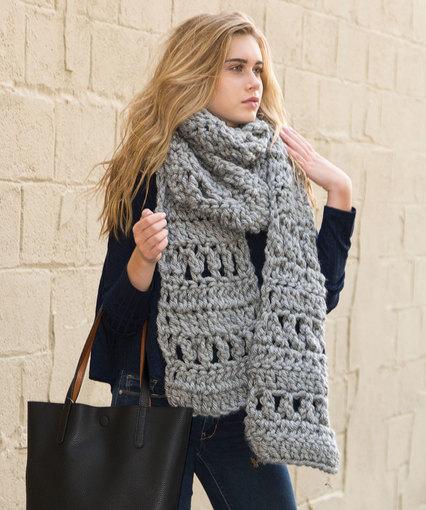 Crochet Scarf With Bulky Yarn Archives Crochet Kingdom 2 Free