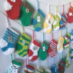 Crocheted Stocking Advent Calendar Free Pattern