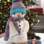 Crocheting Snowman Free Christmas Pattern