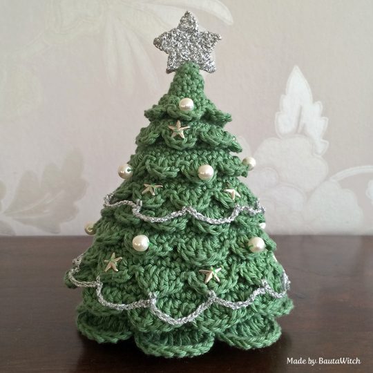 DIY - Crochet Christmas tree