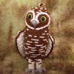 Digger the Burrowing Owl Free Crochet Pattern