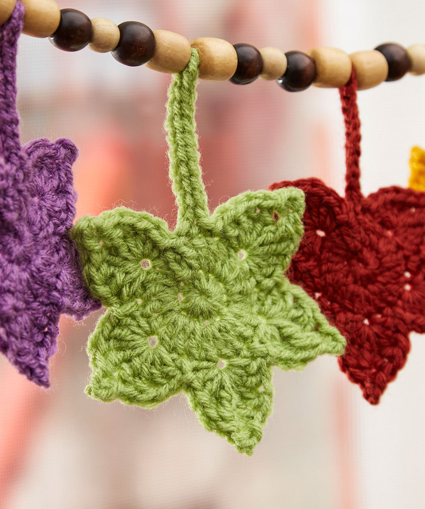 Fall leafy banner free crochet pattern crochet kingdom fall leafy banner free crochet pattern 1 bankloansurffo Image collections